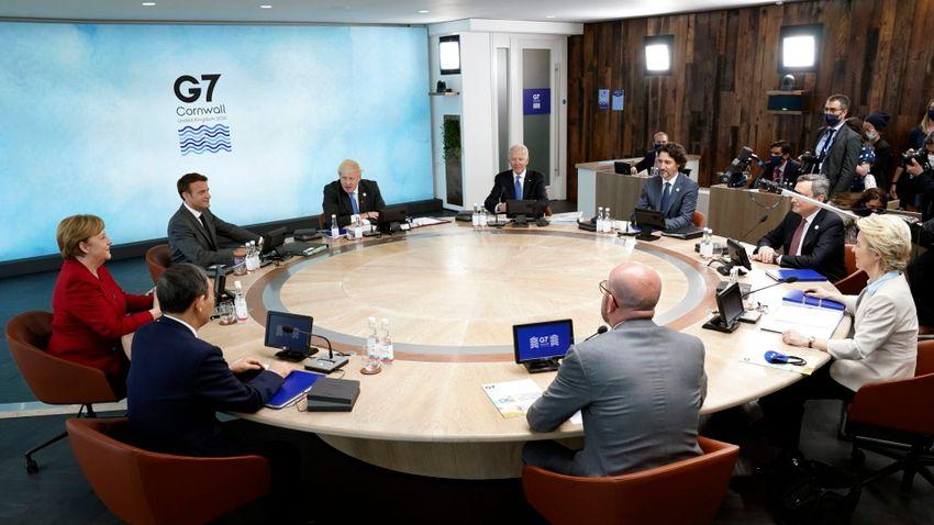 A G7-ek erőteljesen fellépnének Kína dominanciája ellen