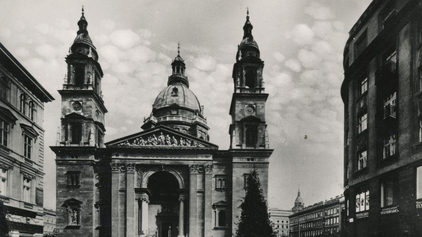 Zsidó–katolikus esküvő a bazilikában