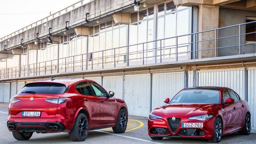 Egy olasz sportlimuzin és szabadidő-autó összehasonlítása