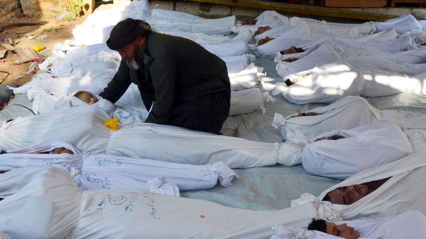 Kétszegednyi embert irtott ki eddig a szíriai háború
