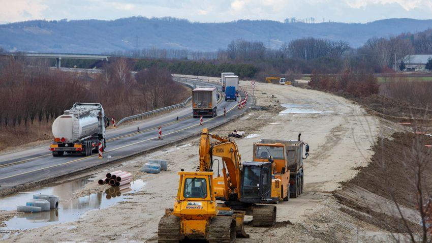 Újabb autópálya éri el a horvát határt