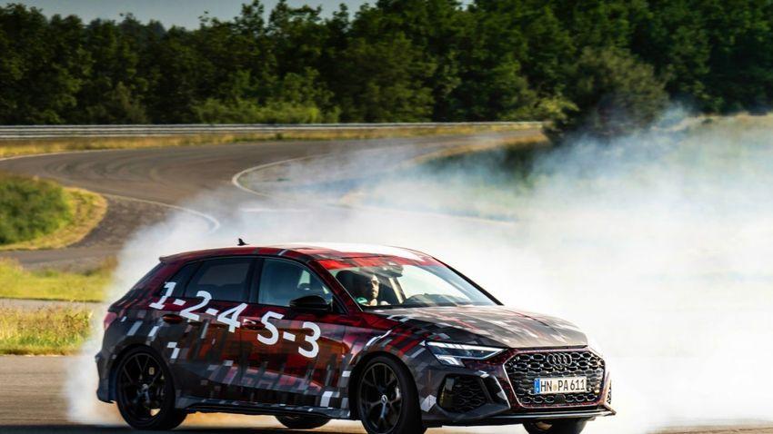 Hivatalos kémfotón az új RS3