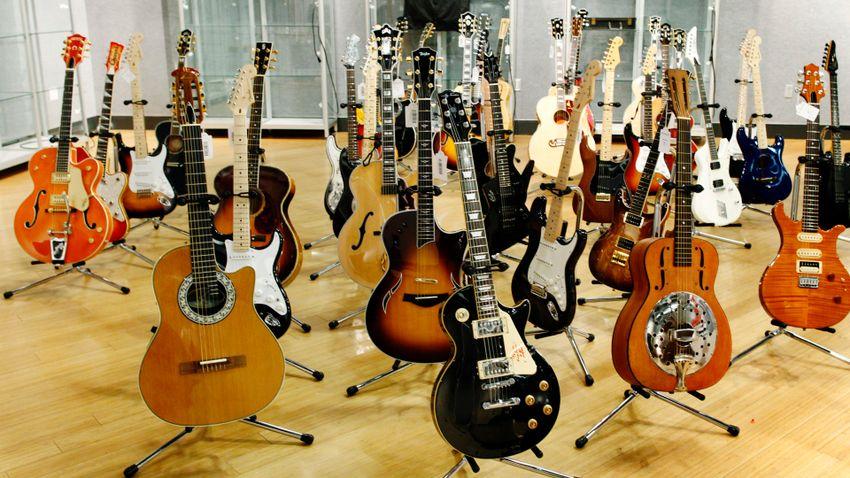 Csődvédelmet kért Amerika legnagyobb gitárforgalmazója