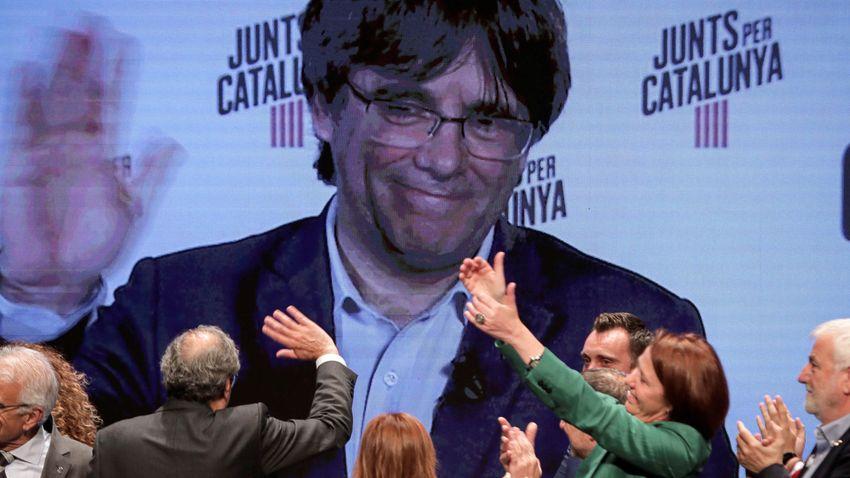 Szabadon engedték a volt katalán elnököt