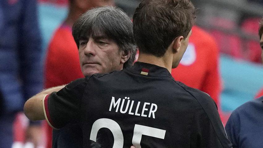 Löw és Neuer is a ziccert rontó Müllert hibáztatja a vereségért + videó