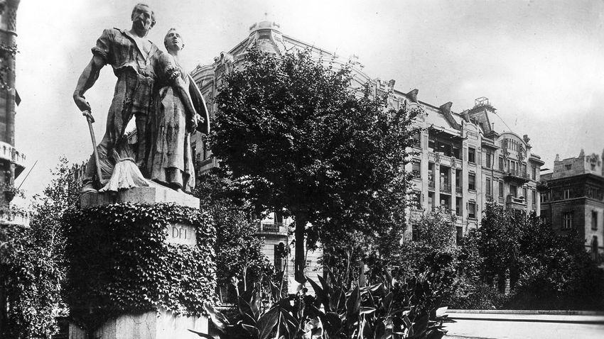 A magyar hűség négy szobra