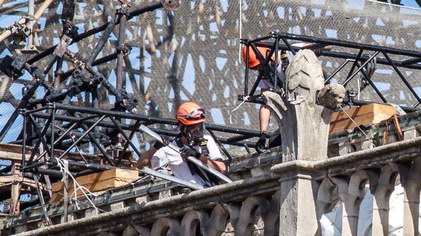Megkezdődhet a párizsi Notre-Dame tényleges helyreállítása