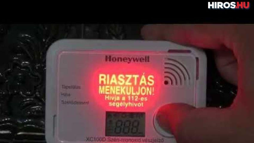 Életeket mentettek a szén-monoxid-érzékelők Győrben