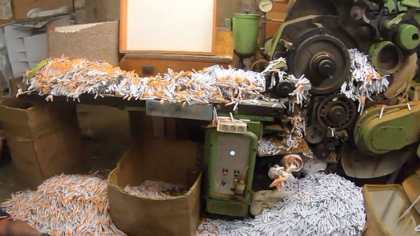 Moldáv–román illegális cigarettagyár működött Soroksáron