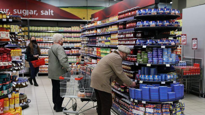 A magas költségek ellenére érdemben nem drágultak az élelmiszerek