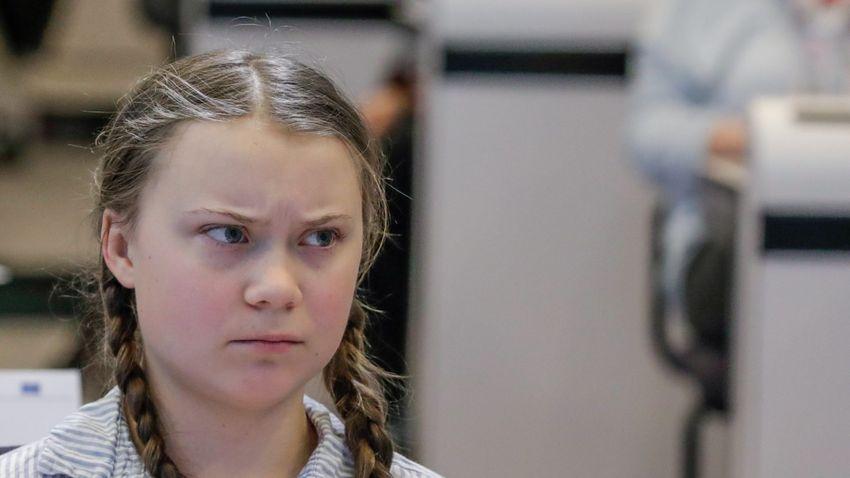 Greta Thunberg nem beszélhet a norvég parlamentben