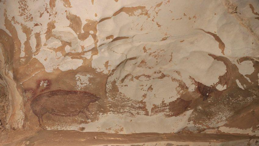 Gyors ütemben pusztítja az erózió a világ legrégibb barlangrajzát