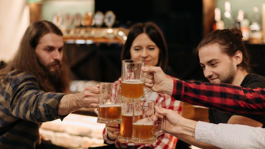 Alkoholfogyasztás – Heti hét korsó sör is káros lehet?