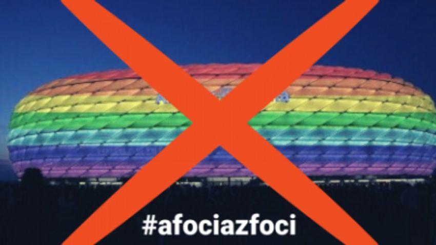 A foci az foci: ne legyen szivárványszínű az Allianz Aréna!