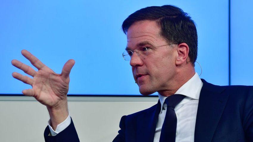 """A hollandok többsége menesztené a """"felejtős"""" Mark Ruttét"""