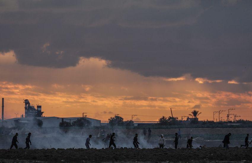 Újrakezdődtek az összecsapások a Gázai övezet és Izrael határán