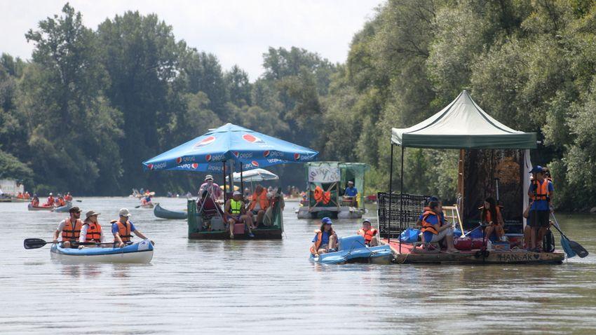 Újabb hat tonna hulladéktól tisztult meg a Felső-Tisza