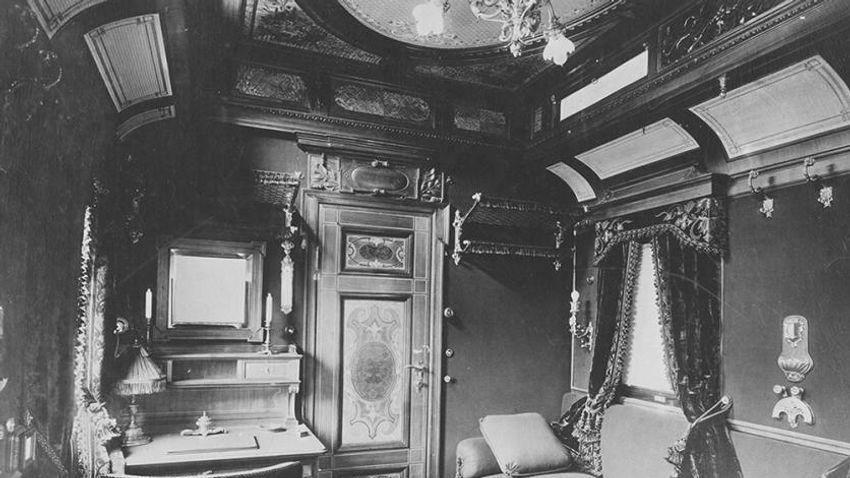 Így néztek ki az eltűnt magyar királyi vonat enteriőrjei