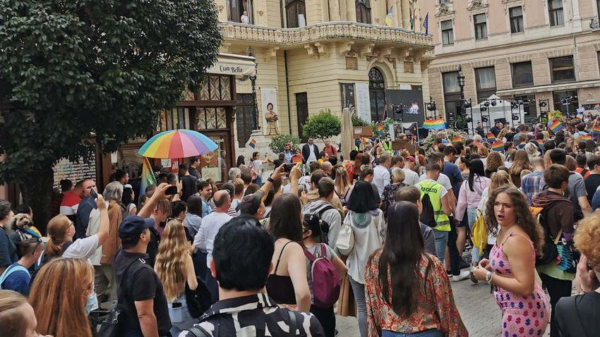 Saját maguknak parádéztak a pécsi Pride résztvevői