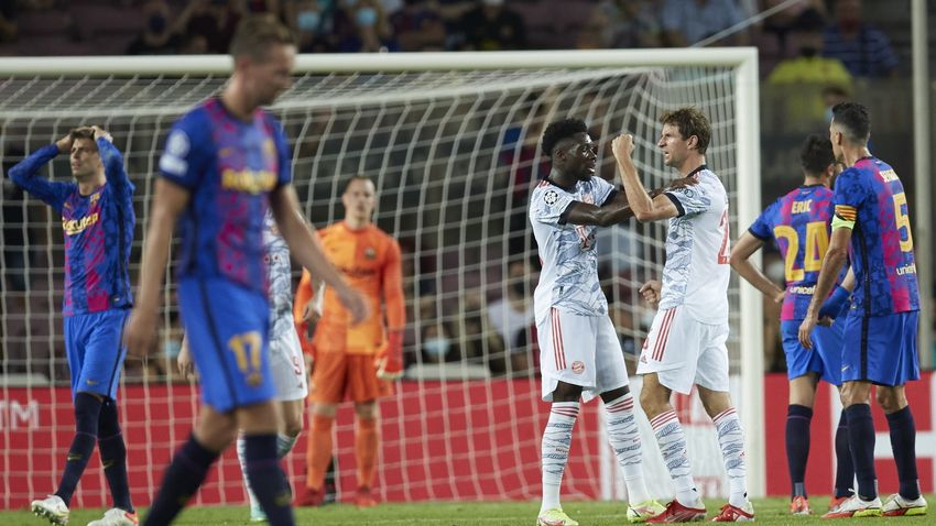 A szerencsével és a Bayernnel is meggyűlt a baja a Barçának