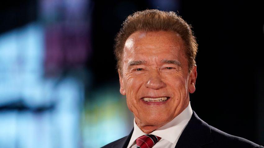 Így lepte meg Arnold Schwarzenegger a magyar világrekorder Sinka Dottit