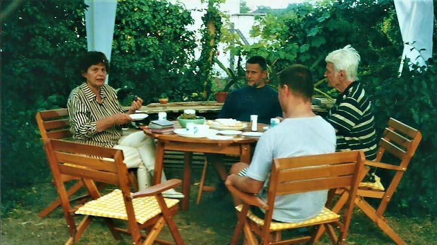 Kerti parti Kisorosziban