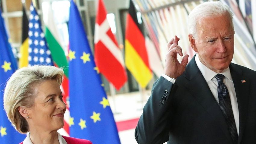 Az Európai Unió hűtlenséggel vádolja Joe Bident