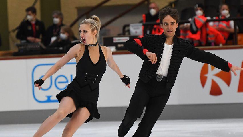 Két pontra van a téli olimpiai kvótától a magyar páros