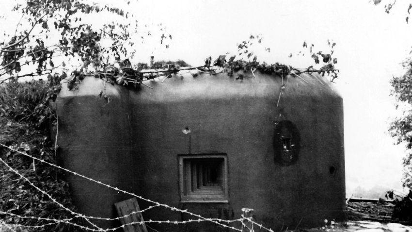 Második világháború előtti bunkereket árvezernek Csehországban