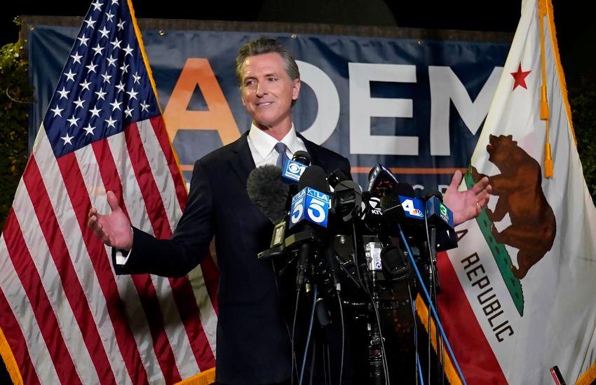 A kaliforniai kormányzó megnyerte a visszahívási szavazást