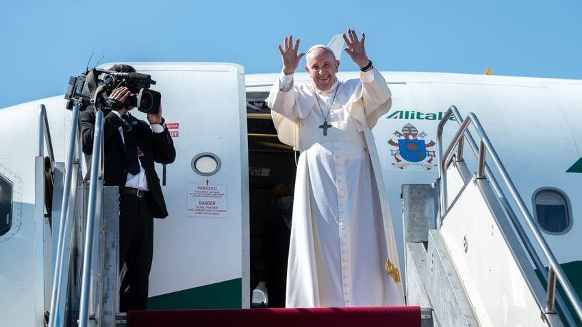 Pápalátogatás: nem az a lényeg, hogy mennyit, hanem az, hogy itt volt