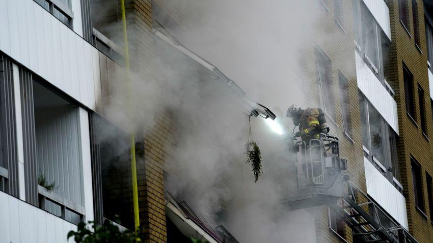 Többen is súlyosan megsérültek a göteborgi robbanásban