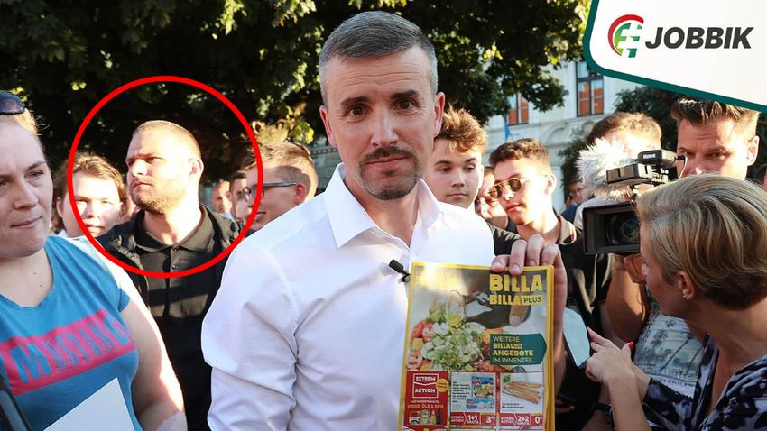 Jakab Péter hiába próbálja letagadni verekedő testőrét, a fotók bizonyítanak