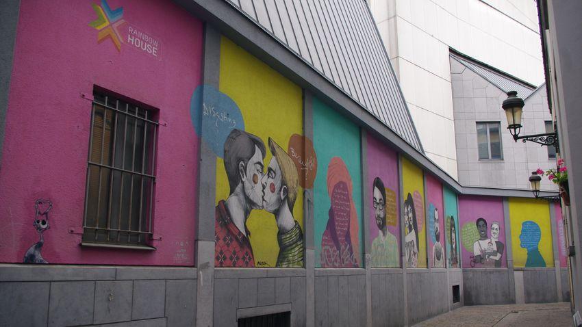 Lapozó: Az LMBTQ-mozgalom tárgyaiból rendez kiállítást egy brüsszeli múzeum