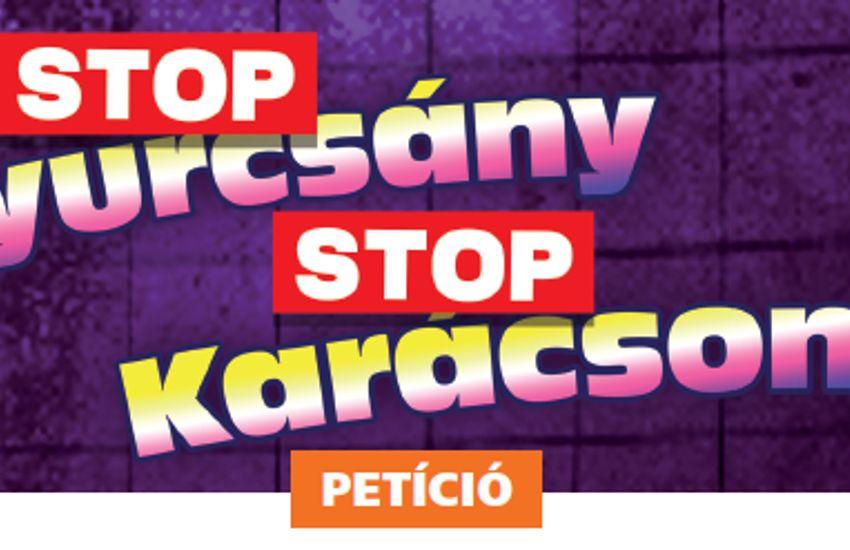 Ezek a Stop, Gyurcsány! Stop, Karácsony! petíció pontjai
