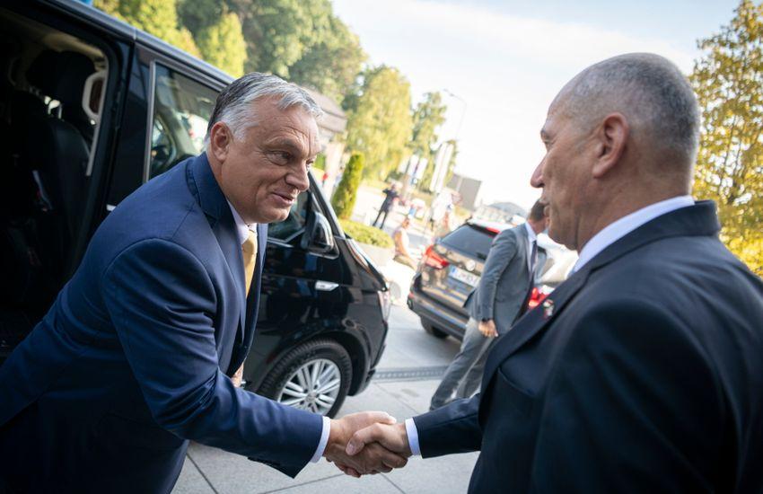 Szlovéniát és Magyarországot mély baráti kapcsolat köti össze