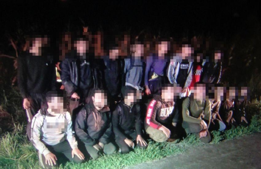Határsértő migránsok Bács-Kiskun és Vas megyében