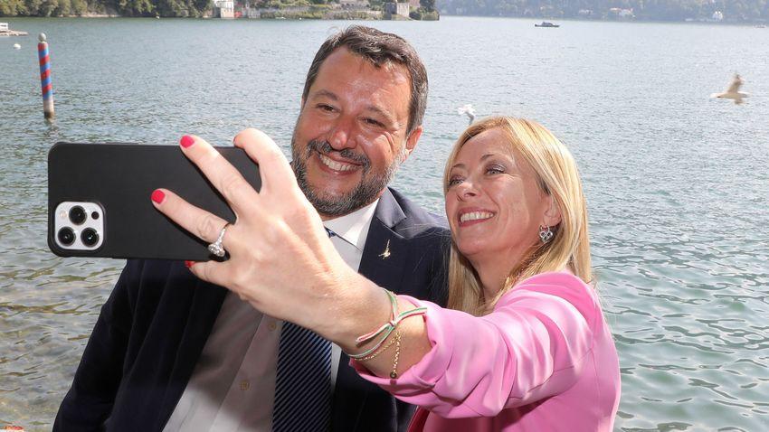 A választási győzelemre készül az olasz jobboldal