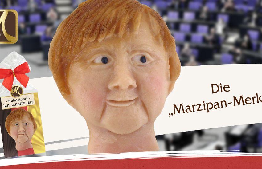 Angela Merkel-figurát készített egy marcipánmanufaktúra