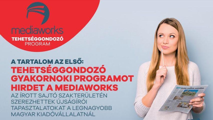 Tehetséggondozó újságírói programot indít a Mediaworks