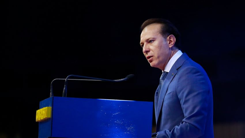 Florin Cîțut választotta elnökévé a Nemzeti Liberális Párt