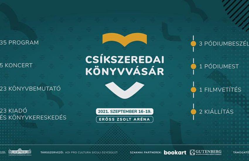 Irodalmi és zenei programokkal készül a Petőfi Kulturális Ügynökség a Csíkszeredai Könyvvásárra