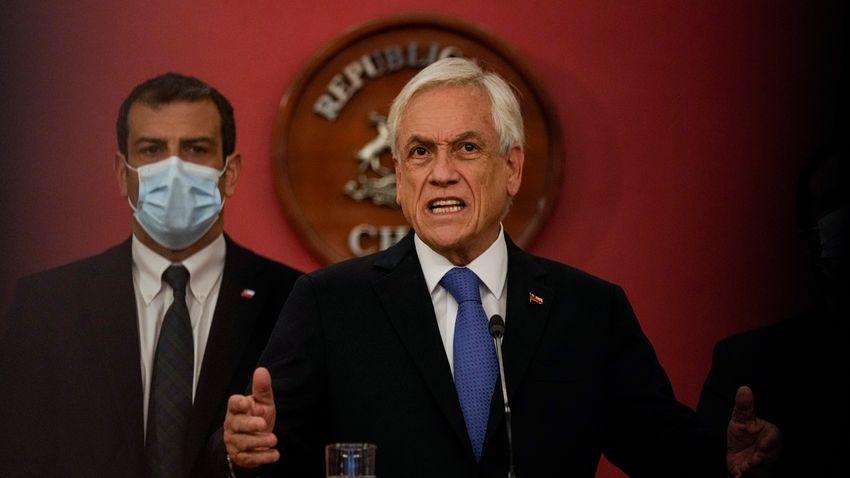 Szükségállapotot rendelt el a chilei elnök