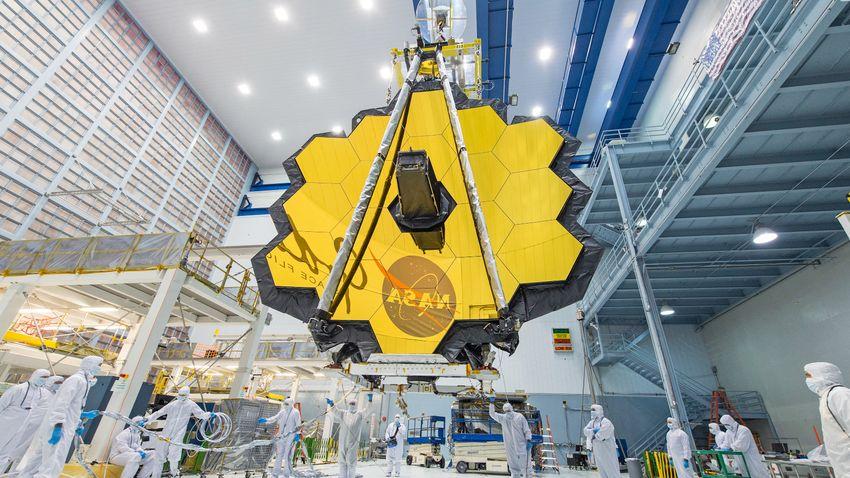 Megérkezett Francia Guyanába a James Webb-űrteleszkóp