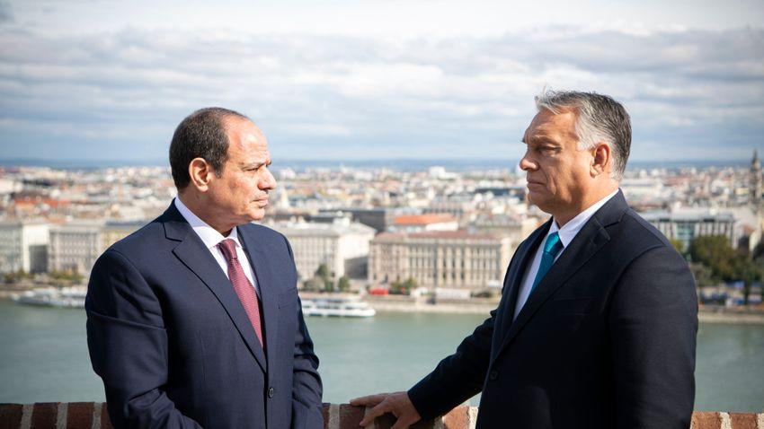 """""""Európa számára sorskérdés, hogy Egyiptom megvédje határait"""""""
