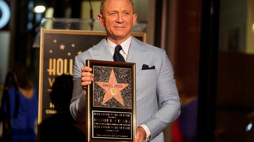 Megkapta a csillagot Daniel Craig a Hírességek sétányán