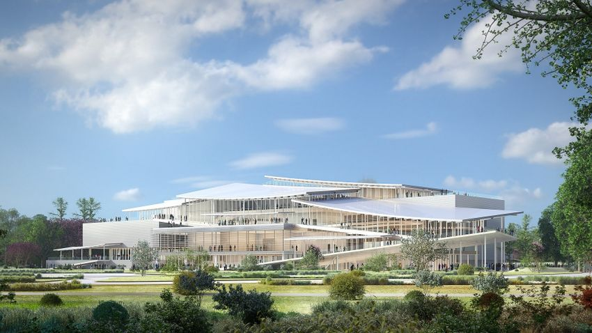 Az Új Nemzeti Galéria megépítésével lehet teljes a Liget Budapest Projekt